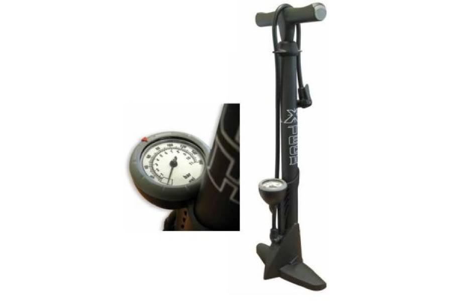 منفاخ الدراجة بكاشف الضغط