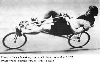 فرانسس فيرو يكسر الرقم القياسي لسرعة الدراجات 1933