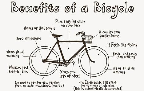 فوائد الدراجة