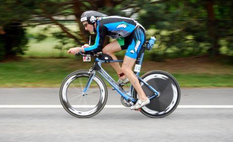 دراجة سباق الوقت