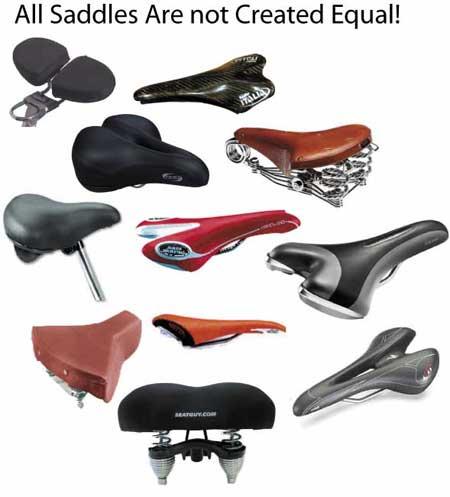 سروج دراجات متنوعة