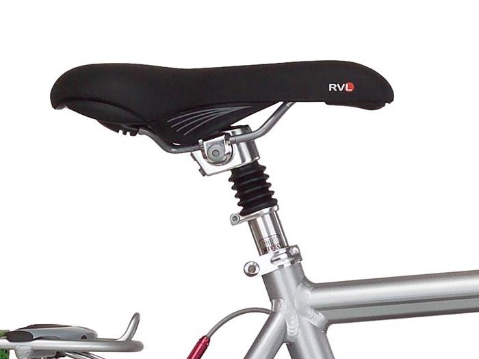 سرج دراجة مزود بمساعدات