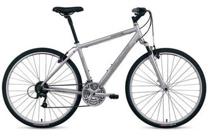 دراجة مهجنة بمساعدات أمامية