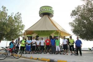 شباب مجموعة دراجتي في الدمام