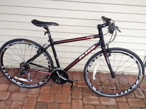 دراجة هجينة من غير مساعدات وعجلات عرض 25