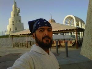 خالد الصقعبي في جزيرة المرجان