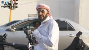 خالد الصقعبي في وثائقي أنا أتنقل بدراجة