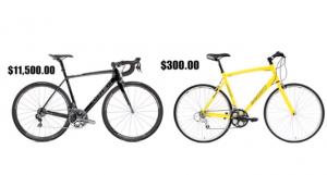 مقارنة سعر دراجة هجينة رخيصة ودراجة شارع