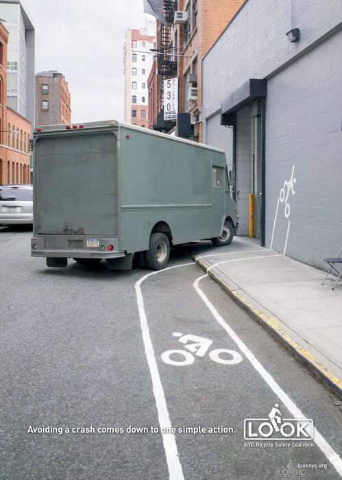 مصير الدراجة مع مسارات الدراجات