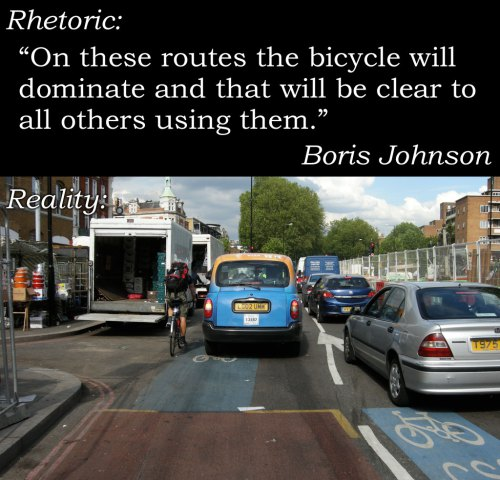 بلدية لندن: الدراجة ستكون محترمة في مسار الدراج السريع