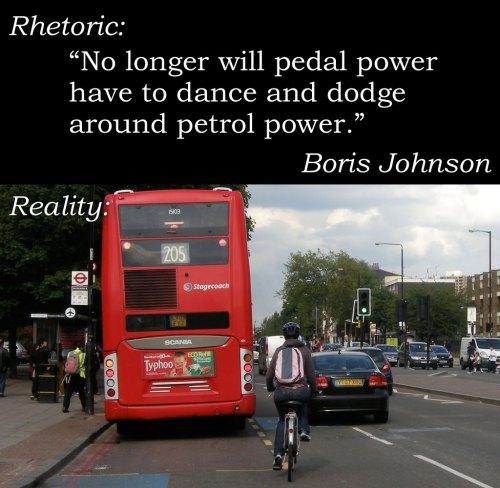 بلدية لندن: لن يتراقص الدراج للتجاوز بعد وجود مسار الدراج السريع