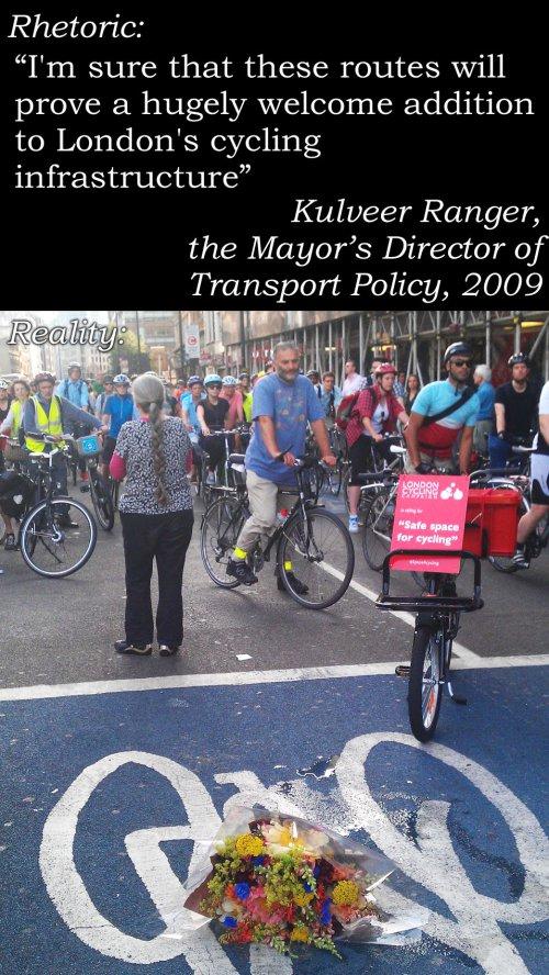 بلدية لندن: المسارات ستكون إضافة كبيرة للبنية التحتية المتوفرة للدراجين