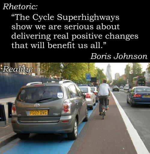 بلدية لندن: مشروع المسارات سيرينا كيف أننا مهتمون بنشر ثقافة الدراجات