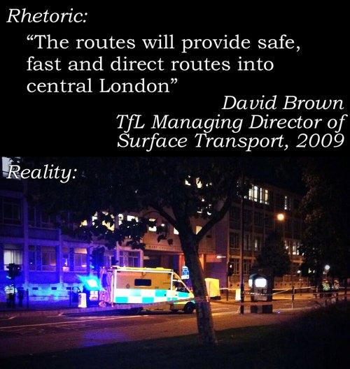 بلدية لندن: المسارات ستثبت سلامتها وسرعتها ودخولها إلى وسط لندن