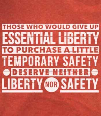 التضحية بالحرية من أجل الأمان