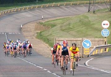 مسار خُصص لسباقات الدراجات
