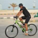عبدالعزيز الحماد بدراجة جبلية 2012