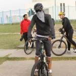 خالد الصقعبي يركب دراجة جبلية 2012