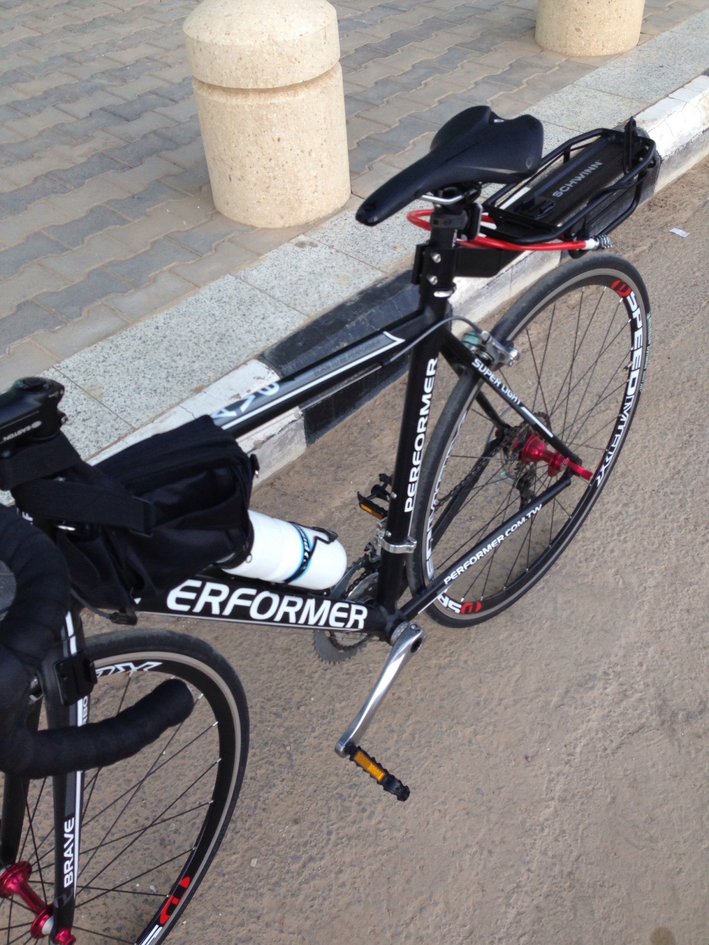 دراجتي في احدى الرحلات