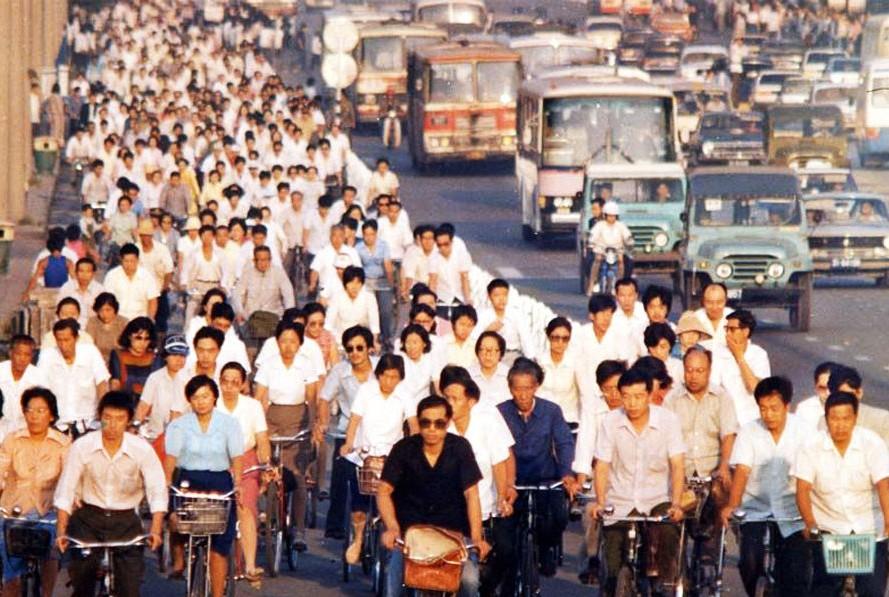 الصين الأكثر عددا للدراجين في العالم