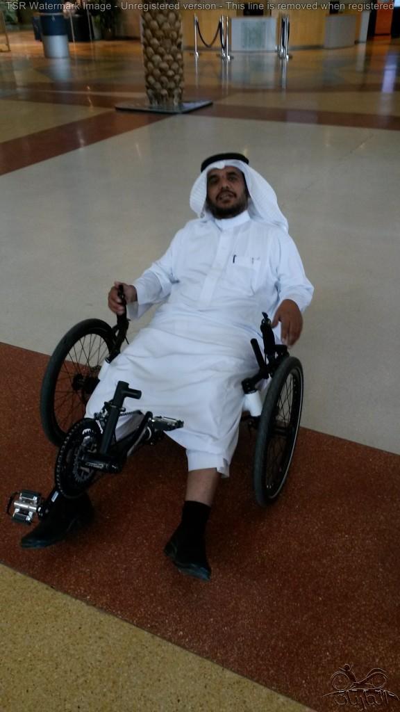 أ أحمد الغامدي يركب الجارية
