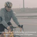 صالح العجرفي مع دراجة برفورمر