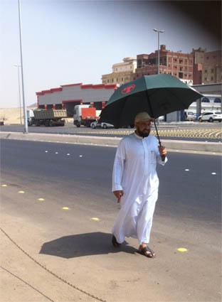 مشياً إلى المسجد