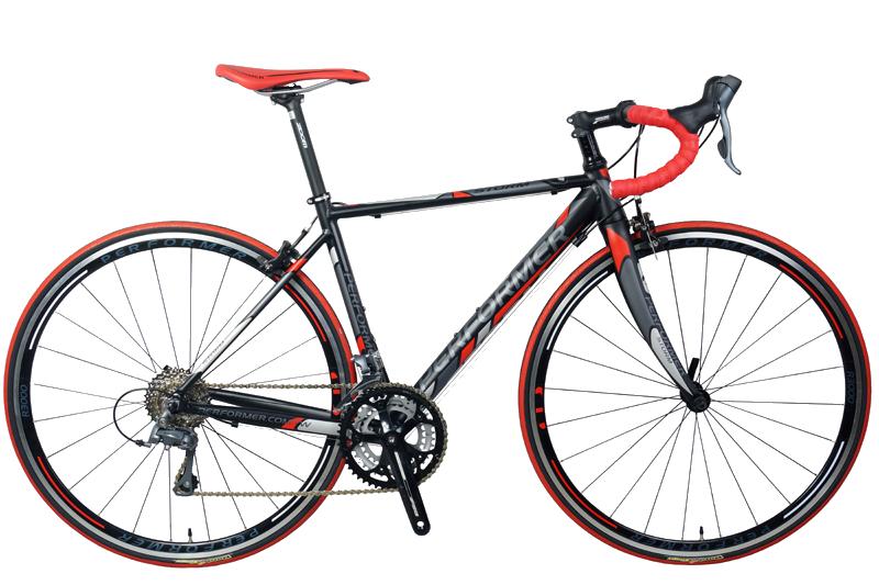 دراجة برفورمر ستورم طريق اسود أحمر Performer road bike storm BLACK RED