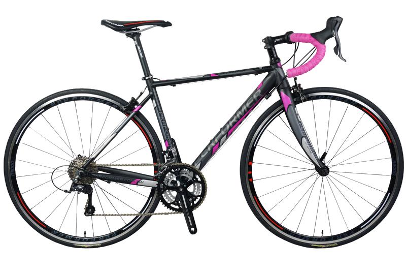 دراجة برفورمر ستورم طريق اسود وردي Performer road bike storm BLACK pink
