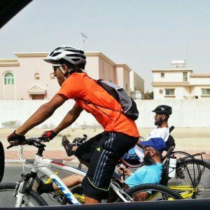 ركاب جاريات و دراجات