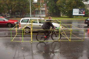 دراجة بهيكل سيارة!